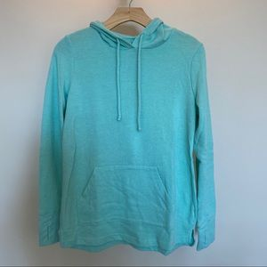 Tek Gear Dry Tek sweatshirt hoodie green XS women